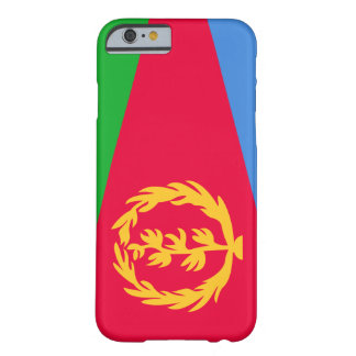 Bandera de Eritrea Funda Para iPhone 6 Barely There