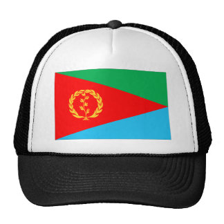 Bandera de Eritrea Gorras