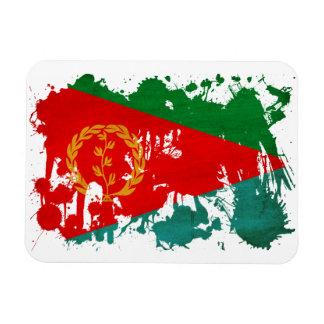 Bandera de Eritrea Imán