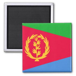 Bandera de Eritrea Imán Cuadrado