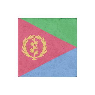 Bandera de Eritrea Imán De Piedra