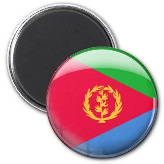 Bandera de Eritrea Imán Redondo 5 Cm