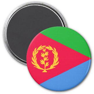 Bandera de Eritrea Imán Redondo 7 Cm