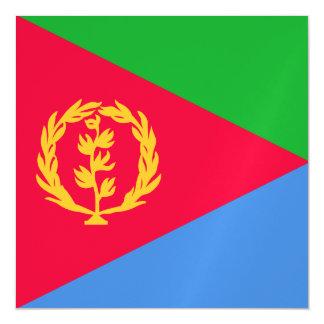 Bandera de Eritrea Invitaciones Magnéticas
