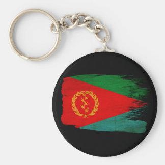 Bandera de Eritrea Llavero Redondo Tipo Pin