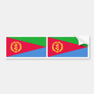 Bandera de Eritrea Pegatina Para Auto