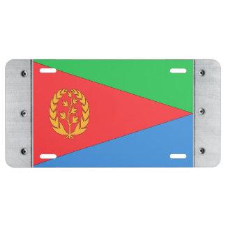 Bandera de Eritrea Placa De Matrícula