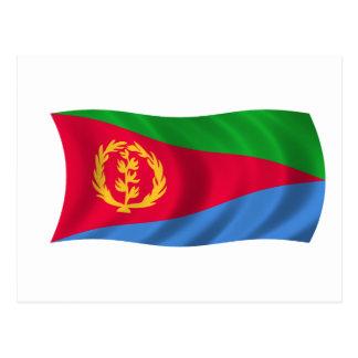 Bandera de Eritrea Postales