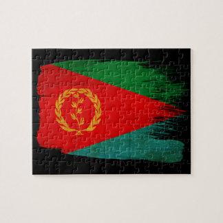 Bandera de Eritrea Puzzles Con Fotos
