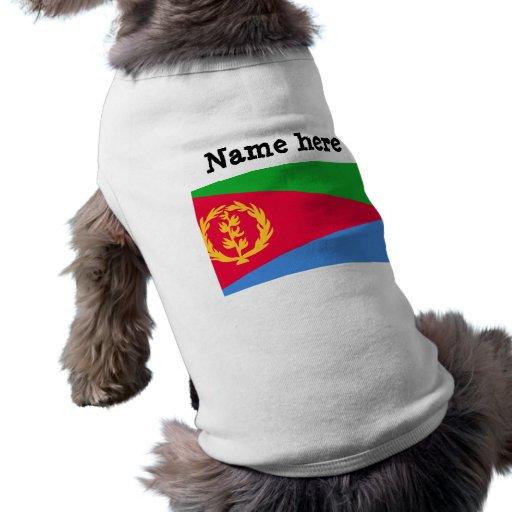 Bandera de Eritrea Ropa Macota