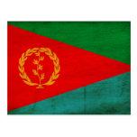 Bandera de Eritrea Tarjeta Postal
