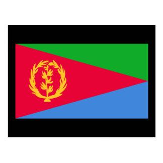 Bandera de Eritrea Tarjetas Postales
