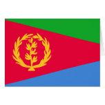 Bandera de Eritrea Tarjetón