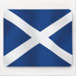 Bandera de Escocia Alfombrilla De Ratones