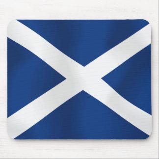 Bandera de Escocia Alfombrillas De Ratón