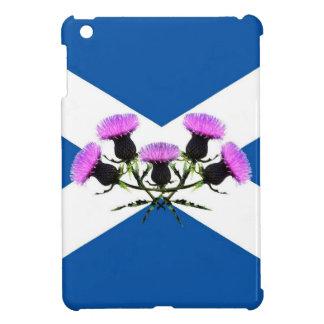 Bandera de Escocia, andrews de la flor del cardo