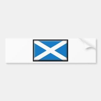 Bandera de Escocia Pegatina Para Coche