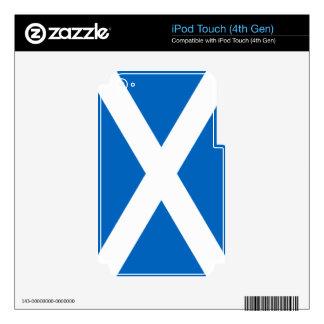Bandera de Escocia Calcomanías Para iPod Touch 4G