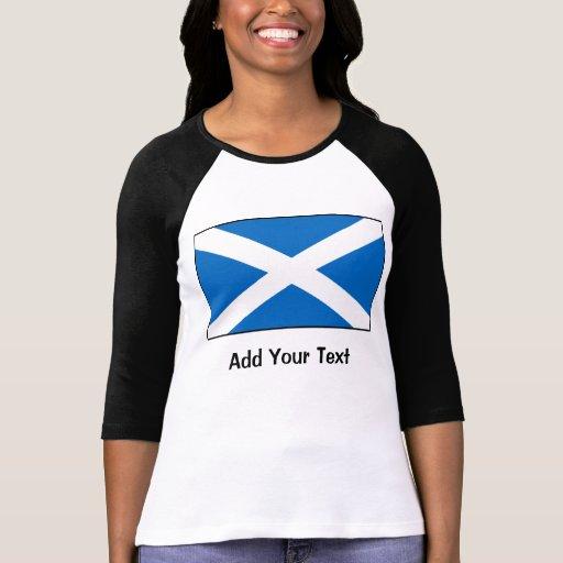 Bandera de Escocia Camisetas
