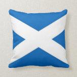 Bandera de Escocia en la almohada de MoJo del amer