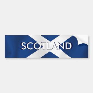 Bandera de Escocia Etiqueta De Parachoque