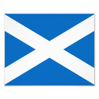 Bandera de Escocia Fotografía