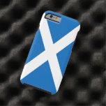 Bandera de Escocia Funda De iPhone 6 Tough