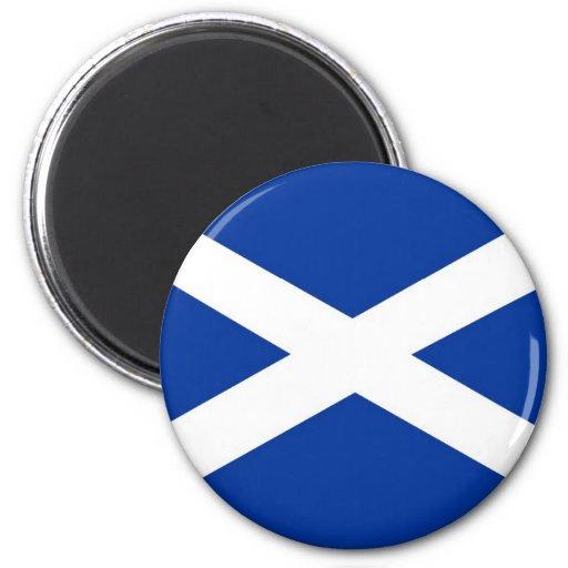 bandera de Escocia Imán Redondo 5 Cm