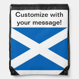Bandera de Escocia Mochila