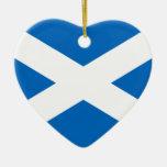 Bandera de Escocia Ornamento Para Arbol De Navidad