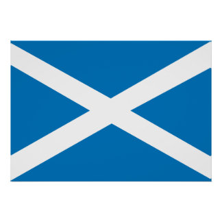 Bandera de Escocia Posters