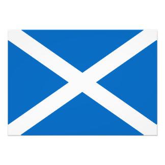 Bandera de Escocia Fotos