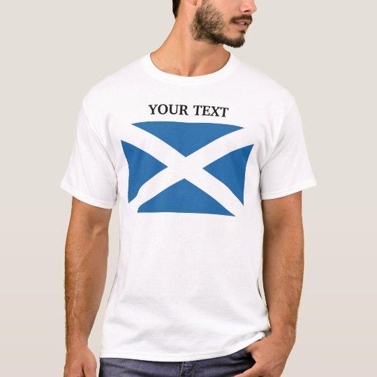 Bandera de Escocia Playera