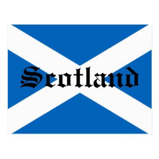 Bandera de Escocia Postales