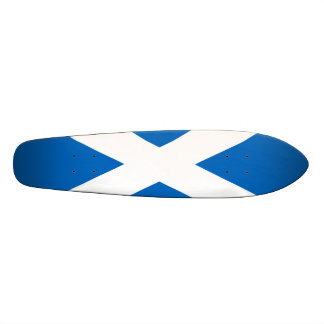 Bandera de Escocia - recuerdo escocés de la Patinetas Personalizadas
