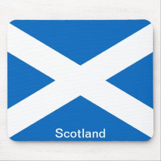 Bandera de Escocia Tapetes De Raton