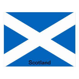 Bandera de Escocia Tarjeta Postal