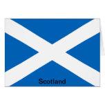 Bandera de Escocia Tarjetas