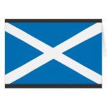 Bandera de Escocia Tarjeton