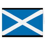 Bandera de Escocia Tarjetón