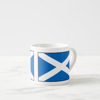 Bandera de Escocia Tazita Espresso
