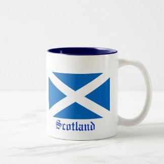 Bandera de Escocia Tazas