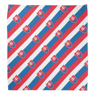 Bandera de Eslovaquia Bandanas