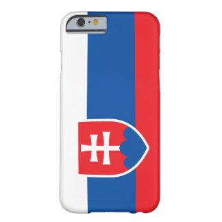 Bandera de Eslovaquia Funda De iPhone 6 Barely There