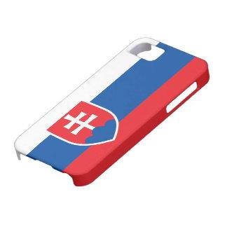 Bandera de Eslovaquia iPhone 5 Case-Mate Coberturas