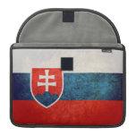 Bandera de Eslovaquia Fundas Macbook Pro