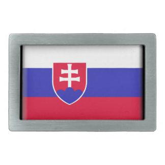 Bandera de Eslovaquia Hebillas Cinturón Rectangulares