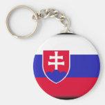 Bandera de Eslovaquia Llaveros