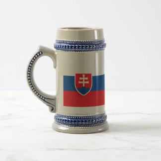 Bandera de Eslovaquia Taza De Café