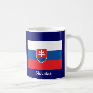 Bandera de Eslovaquia Taza